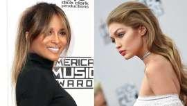 ghd crea los peinados de Gigi Hadid y Ciara en los American Music Awards 2016