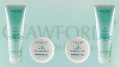 Crawford Professional lanza una cera y gomina de fijación extrafuerte