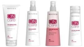 Con la linea ONcare Color Care, de Selective, se estabilizan los pigmentos del interior de la fibra capilar. manteniendo la integridad y el brillo del color cosmético en el tiempo