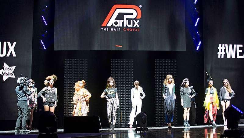 Parlux exhibe sus secadores más emblemáticos en su primer hair fashion show