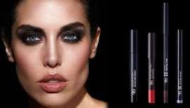 Los nuevos maquillajes están formados por tres familias: los eyeliners, las sombras de ojos y la máscara de pestañas. Esta línea sigue con la filosofía de los pintalabios Lipsticks Hidracolors