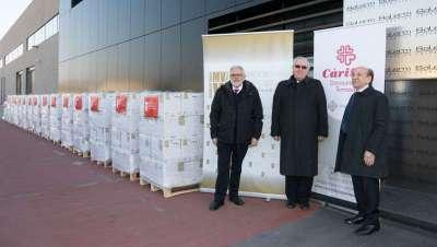 Acuerdo de colaboración de la Fundación VMV Cosmetic Group con Cáritas Diocesana de Terrassa