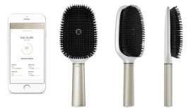 La firma ha dado a conocer en Las Vegas el cepillo Kérastase Hair Coach, by Withings. Esta innovación minimiza los riesgos de rotura y facilita todo tipo de información sobre el estado del cabello y sus cuidados