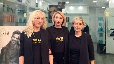 La cadena Blue 01 Stylist inaugura peluquería en Rubí, cerca de Barcelona