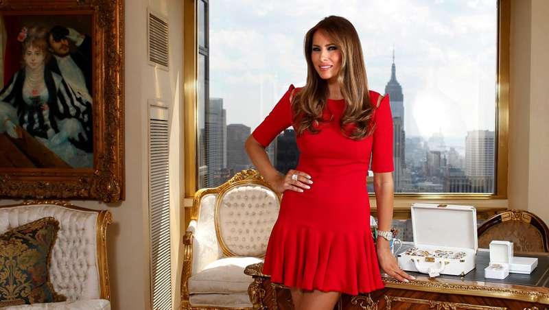 Una habitación beauty en la Casa Blanca para Melania Trump