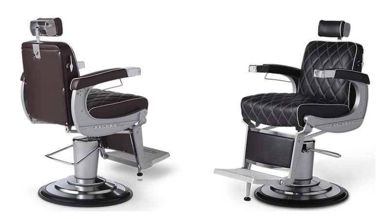 El lujo adquiere una nueva dimensión con el sillón de barbero Apollo 2 Icon