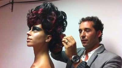 Richard Jara presenta las novedades en corte y color en el centro Barcelona Beauty School