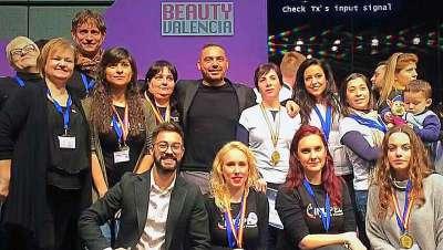 Amalú Harmony España e Inupel triunfan en la Feria Beauty Valencia