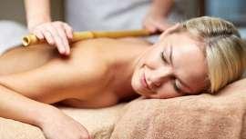 La bambuterapia es una técnica de trabajo corporal de relajación que procede de Japón