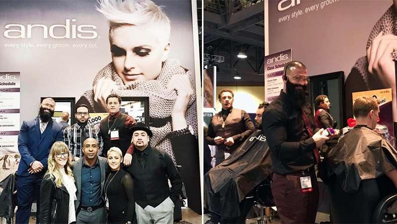 Andis exhibe lo último en barbería en el International Salon & Spa Expo