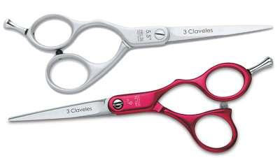 Aluminium, tijeras más ligeras para peluqueros profesionales