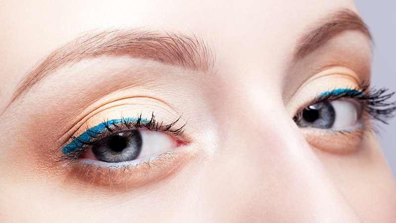 Lápiz Satin Azul, delineador de ojos waterproof de larga duración