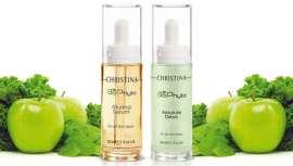 La piel se verá saneada, vibrante y luminosa gracias a los sérums de la línea de Christina Cosmetics conectada con la naturaleza