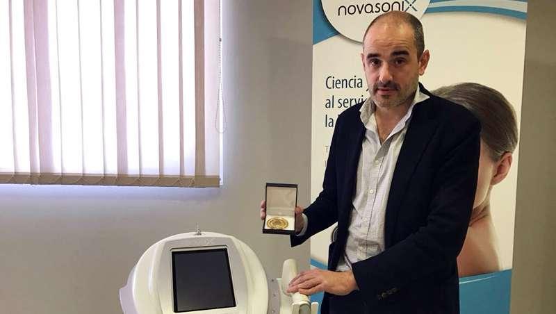 Novasonix se alza con la Medalla de Oro de la Asociación Española de Profesionales de la Imagen