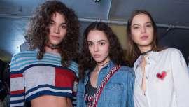 El director creativo global de Wella Professionals Care y Styling fue el encargado de convertir a las modelos de Tommy Hilfiger en atractivas bellezas de la Costa Oeste