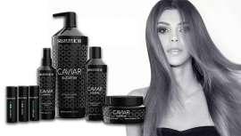 Formulada con caviar negro y blanco, protege del envejecimiento, vigoriza el cabello seco y gastado y reestructura en profundidad