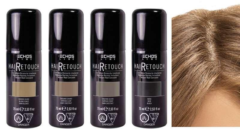 Hairetouch, nuevo espray corrector de raíces instantáneo