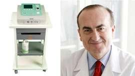 El doctor Esteban Sarmentero cuenta en su clínica con este equipo y resalta algunas de sus ventajas