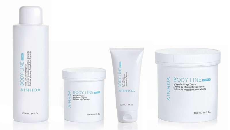 Ainhoa Cosmetics añade cuatro productos a su línea Body Line Up Grade