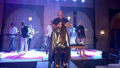 Marruecos, escenario del último espectáculo de peluquería de Costa Perruquer