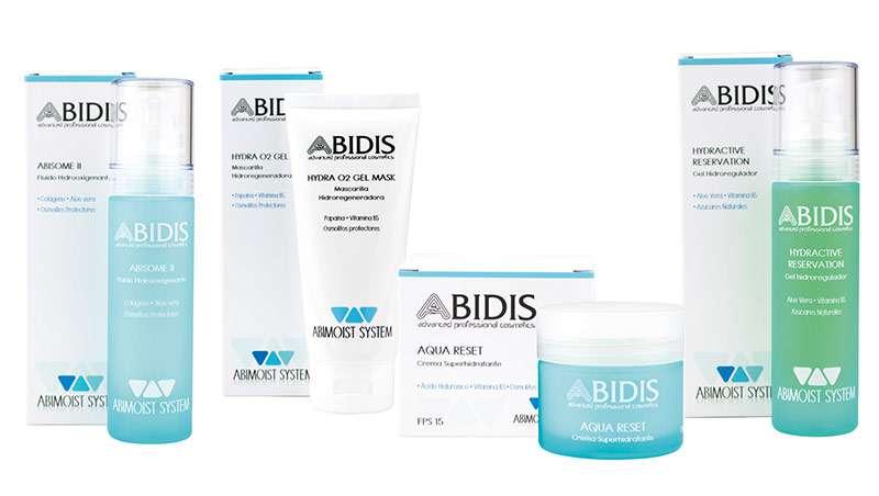 Abidis presenta su nueva línea hidratante Abimoist System