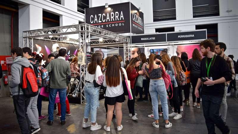 Cazcarra Image School presentó su oferta formativa en el Saló de l'Ensenyament 2017