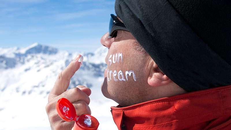 prevencion manchas solares esqui deportes de invierno