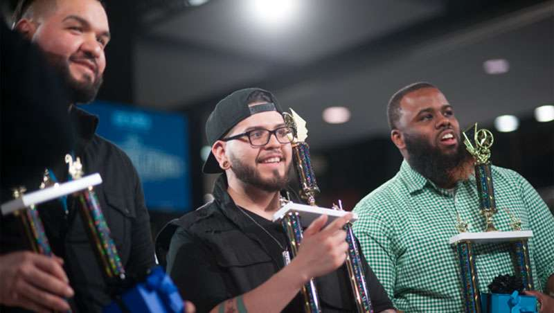 Andis anuncia los ganadores de su primer concurso de cortes degradados masculinos