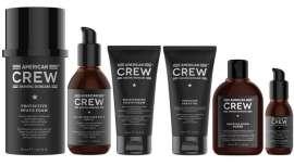 A American Crew é a primeira marca profissional de cuidados masculinos a  oferecer uma gama completa de produtos para a barba e cuidados da pele