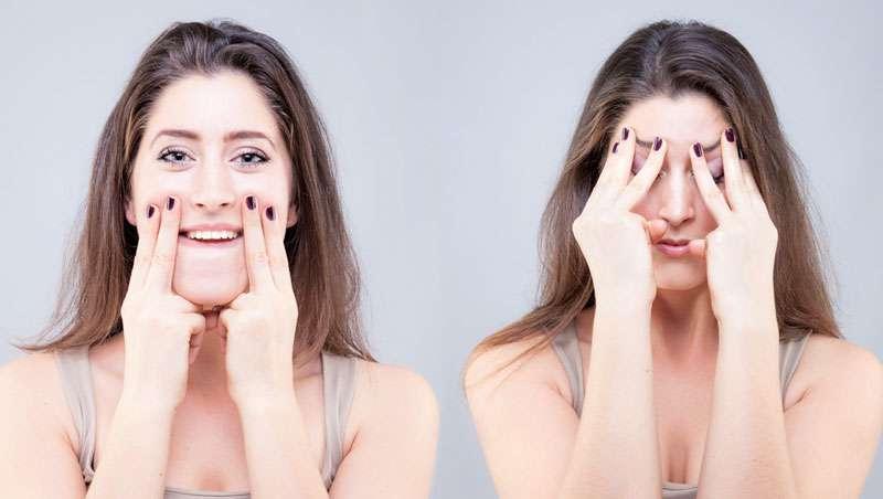 Rejuvenescer graças ao yoga facial
