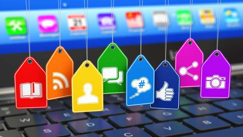 O salão vira os olhos para as redes sociais
