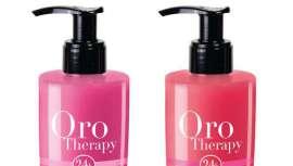 Fanola completa a sua gama de máscaras Oro Therapy com novas cores de rosa, fucsia e lavanda.