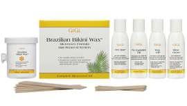 Su suave fórmula con cera de abejas elimina, incluso, el cabello más grueso de las zonas sensibles y delicadas, sin necesidad de usar tiras de muselina