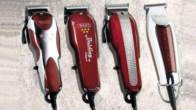 Uma barbearia mais pura com as máquinas cinco estrelas de Wahl