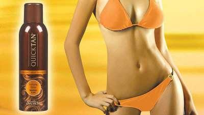 Quick Tan, espray que proporciona un bronceado natural e instantáneo