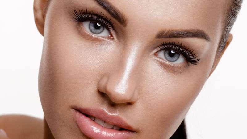 Efeito dewy, luminosidade na pele