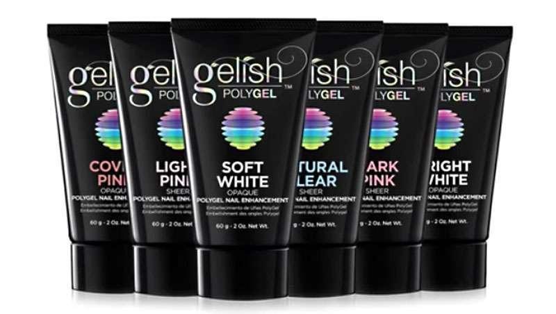 Gelish Polygel, fórmula tudo em um para unhas reforçadas
