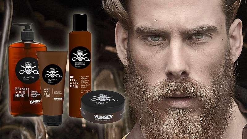 Yunsey Men, la gama de cosmética capilar más trendy para ellos
