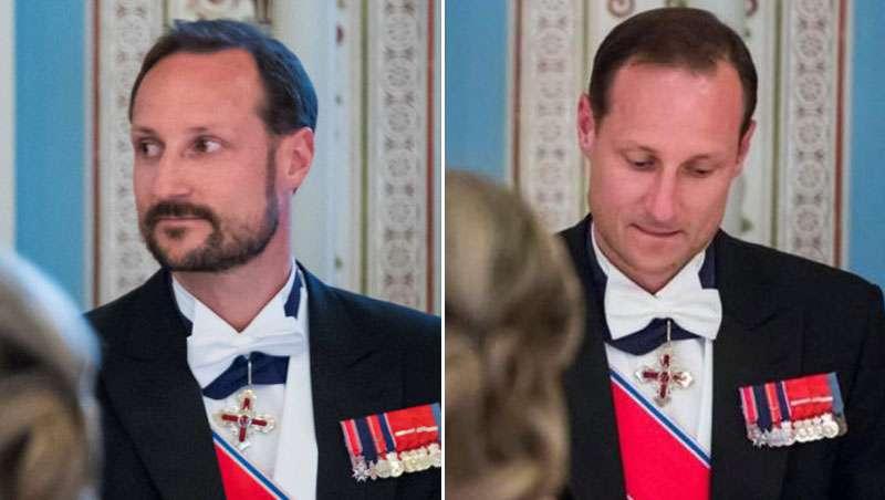 Haakon de Noruega se afeita en medio de un cumpleaños