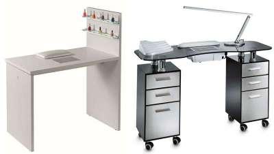 Las mesas de manicura System Forme, tan originales como versátiles