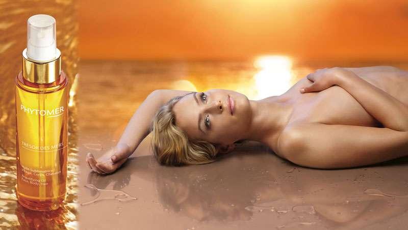 Trésor des Mers, el aceite sublimador para rostro, cuerpo y cabello