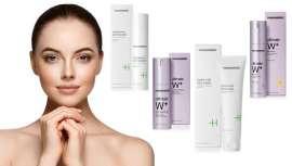 Estos productos reactivan la renovación celular y aumentan la hidratación de la piel. De esta manera, los poros se reducen, dejando la piel más clara y luminosa, con un tono uniforme