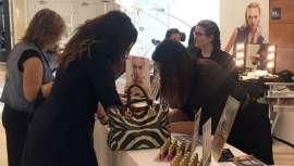 Los profesionales de Cazcarra Image Group han ofrecido el mejor servicio de maquillaje profesional a todos los asistentes y presentado novedades
