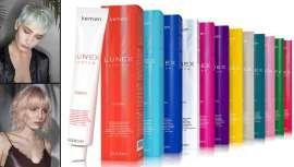 La firma relanza Lunex Colorful, la línea de colores fantasía de Lunex. Una coloración directa en crema con pH ácido que acondiciona e ilumina el cabello
