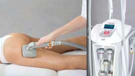 Coordina la tecnología de la energía combinando el masaje fotoneumático, los ultrasonidos y la radiofrecuencia bipolar