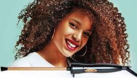Perfect Beauty presenta esta tenacilla con barril rectangular extradelgado que facilita la realización de looks rizados cerrados y duraderos