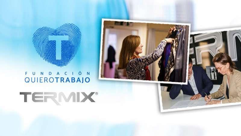 A Termix colabora com a Fundação Quiero Trabajo