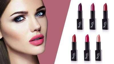 Nueva colección de labiales Be Matte Lipstick, con seis tonos diferentes