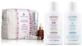 La firma propone tratamientos domiciliarios y peelings químicos para cuidar la piel, especialmente en la época estival