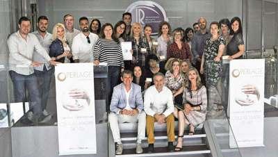 IR Group presenta la línea de biocosmética Perlage